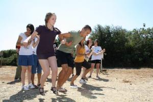 """Ανταλλαγή νέων στο Κρυονέρι Κορινθίας """"Αθλητισμός για όλους"""" (Sports 4 All)"""