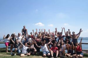 Aνταλλαγή νέων στη Ιταλία, Αρόνα, λίμνη Maggiore, 2018