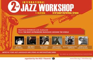 SUMMER JAZZ WORKSHOP KRYONERI 2014